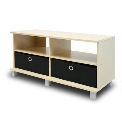 37.8 TV Stand Color: Beige