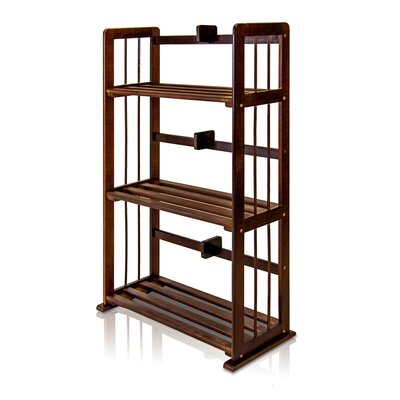 34 Etagere Bookcase Finish: Espresso