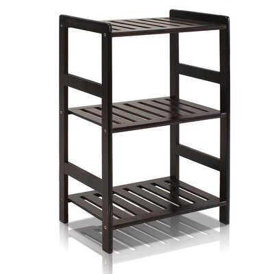 24 Etagere Bookcase Finish: Espresso