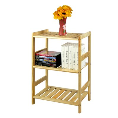 24 Etagere Bookcase Finish: Natural Wood