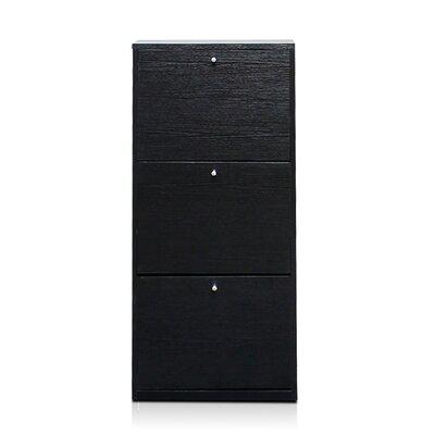 3-Door Shoe Storage Cabinet