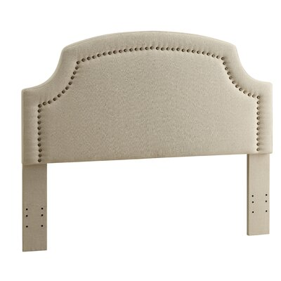 Regency Upholstered Panel Headboard Size: Full / Queen, Upholstery: Charcoal