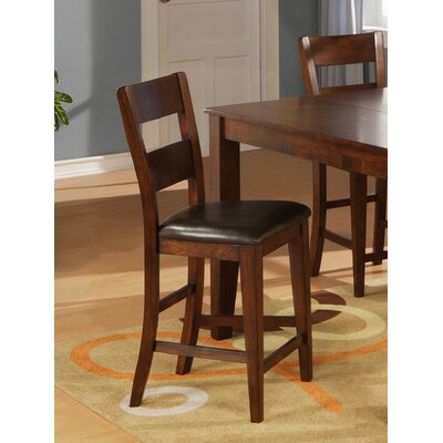 Counter Height Side Chair (Set of 2) Side Chair Finish: Light Cherry