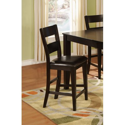 Solid Wood Dining Chair (Set of 2) Color: Dark Cherry