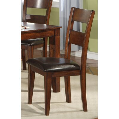 Side Chair (Set of 2) Finish: Light Cherry