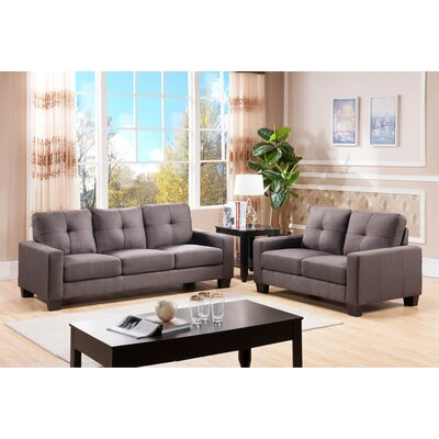 Wildon Home 2073-LS-MT  Loveseat