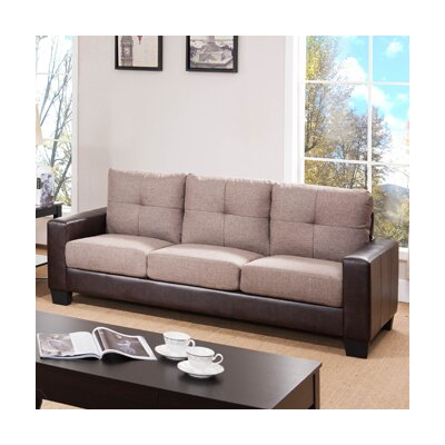 2074-SF-LBR CST27072 Wildon Home Manilla Sofa