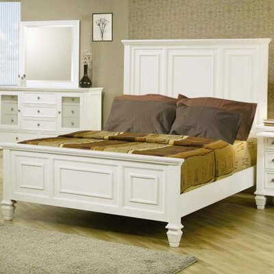 Horton Panel Bed Size: California King