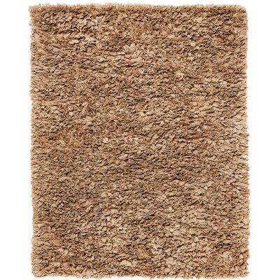 Wildon Home Mocha Paper Shag Area Rug - Rug Size: 8' x 10'