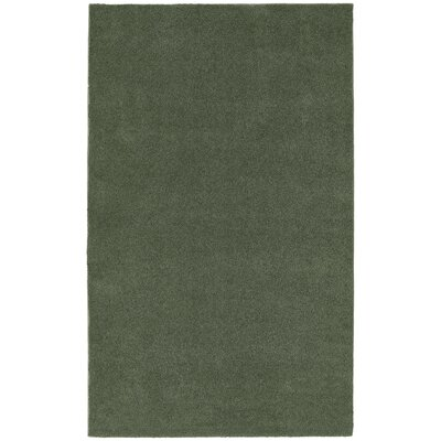 Brennda  Bath Rug Color: Deep Fern, Size: 60 x 96