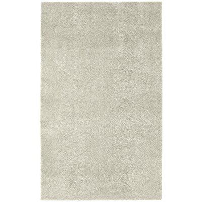 Brennda  Bath Rug Size: 60 x 72, Color: Ivory