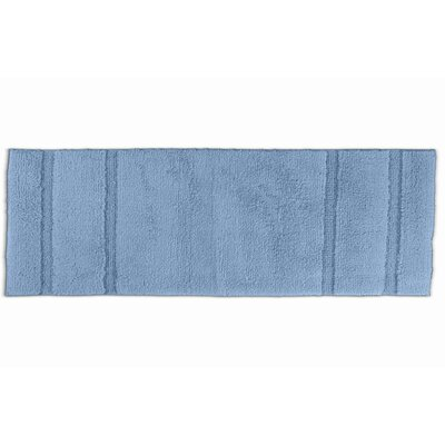 Brenndah  Bath Rug Size: Runner 22 x 60, Color: Sky Blue