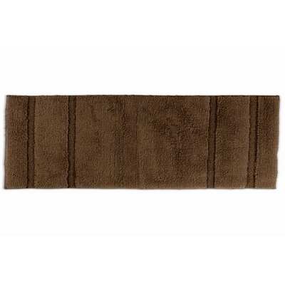 Brenndah  Bath Rug Color: Chocolate, Size: 24 x 40