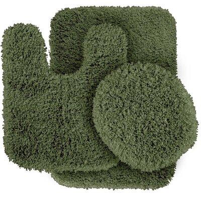 Breonna  Bath Rug Color: Deep Fern
