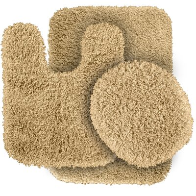 Breonna  Bath Rug Color: Linen