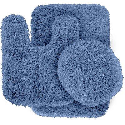Breonna  Bath Rug Color: Basin Blue