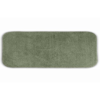 Brett  Bath Rug Color: Deep Fern, Size: 28 x 50