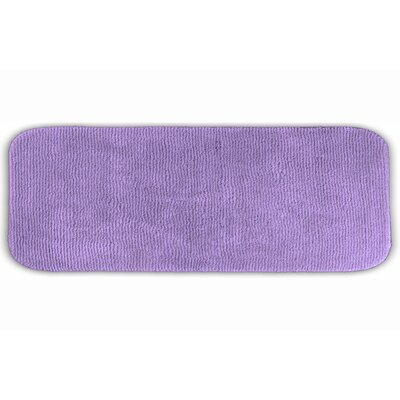 Brett  Bath Rug Size: 24 x 40, Color: Purple