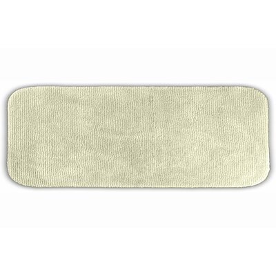 Brett  Bath Rug Size: Runner 22 x 60, Color: Ivory