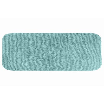 Brett  Bath Rug Color: Sea Foam, Size: 28 x 50