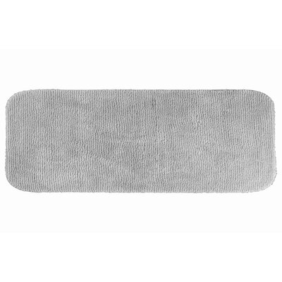 Brett  Bath Rug Color: Platinum Gray, Size: 28 x 50