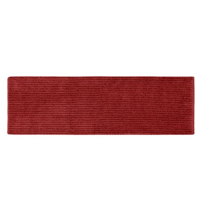 Lucille Bath Rug Size: Runner 22 x 60, Color: Chili Pepper Red