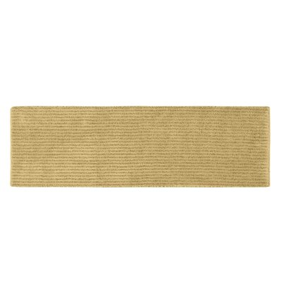 Lucille Bath Rug Size: Runner 22 x 60, Color: Linen
