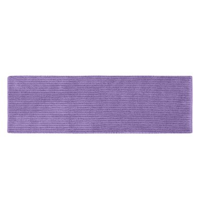 Lucille Bath Rug Size: 30 x 50, Color: Purple