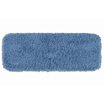 Schreiber Bath Rug Size: 30 x 50, Color: Basin Blue