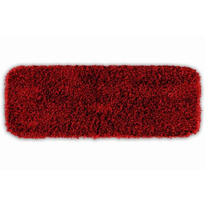 Breunna  Bath Rug Size: Runner 22 x 60, Color: Chili Pepper Red