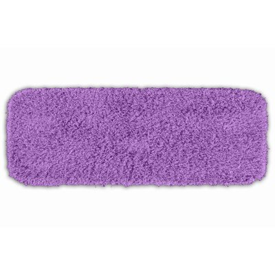 Breunna  Bath Rug Color: Purple, Size: 24 x 40
