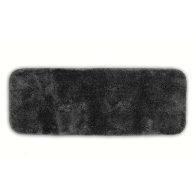 Breyana  Bath Rug Color: Dark Gray, Size: 2 6 x 4 2