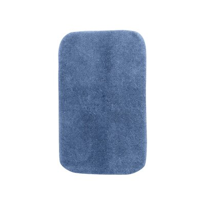 Breyana  Bath Rug Color: Basin Blue, Size: 2 6 x 4 2