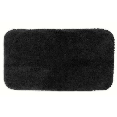 Kristian Bath Rug Size: 2 6 x 4 2, Color: Black