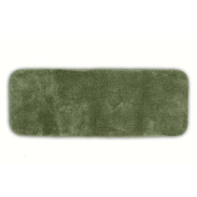 Breyana  Bath Rug Size: 2 x 3 4, Color: Deep Fern