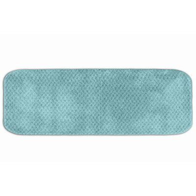 Breyann  Bath Rug Color: Sea Foam, Size: 24 x 40