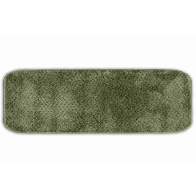 Breyann  Bath Rug Color: Deep Fern, Size: 24 x 40