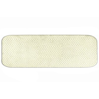 Breyann  Bath Rug Size: Runner 22 x 60, Color: Ivory