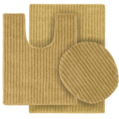 Breyanna  Bath Rug Color: Linen