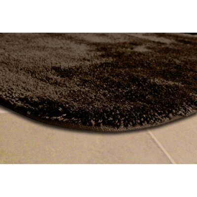 Deyor Bath Rug Set Color: Chocolate