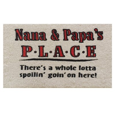 Nana and Papa Doormat