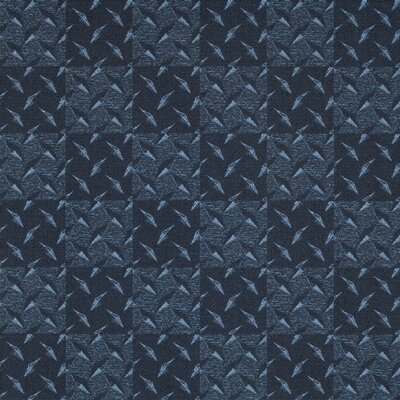 Diamond Plate� 39 x 39 Carpet Tile in Multi (Set of 25)