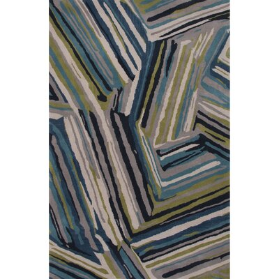 Annise Blue Area Rug Rug Size: 2 x 3