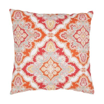 Cheslie Indoor/Outdoor Throw Pillow Color: Red