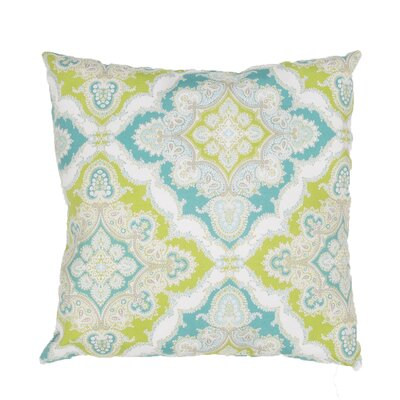 Cheslie Indoor/Outdoor Throw Pillow Color: Blue/Green