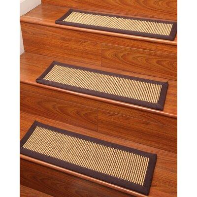 Tan Stair Tread Rug Size: 9 x 29