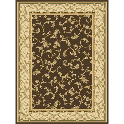 Cayetana  Brown Area Rug Rug Size: 26x8