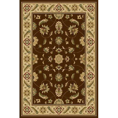 Catlin  Brown Area Rug Rug Size: 910 x 1210