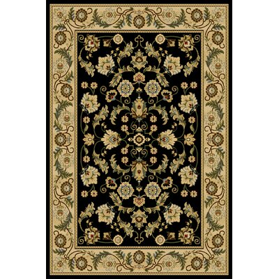 Calli  Black Area Rug Rug Size: Rectangle 710 x 910