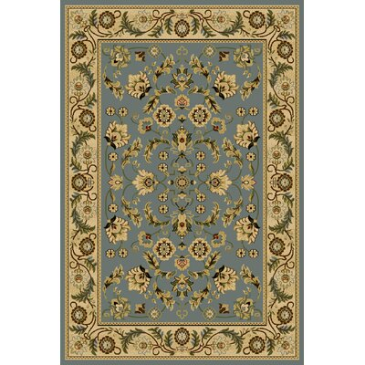 Carmalla  Blue Area Rug Rug Size: Rectangle 910 x 1210